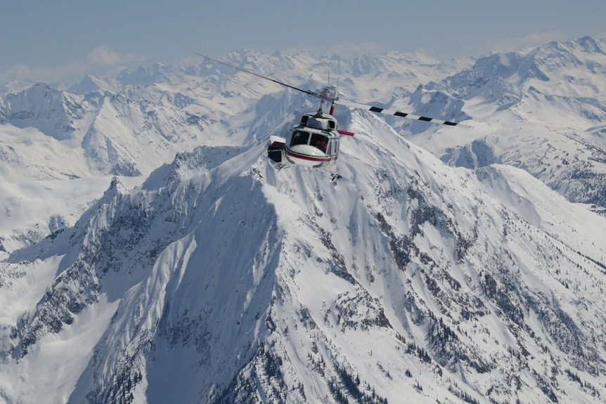 Diversified Helicopter Support at Any Ski Resort Location