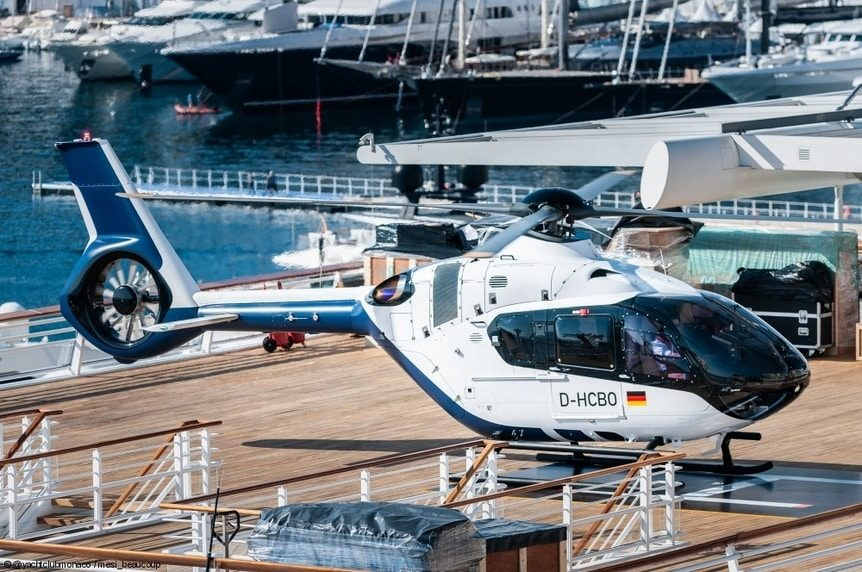 Quality ACH135 Helionix Helicopter Charter Flight