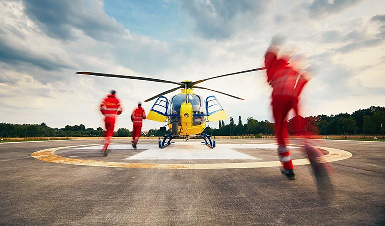 Garland Helicopters for Search and Rescue - Garland Helicopter Lift Solutions