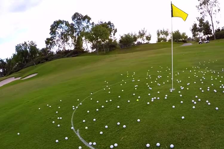 Helicopter Golf Ball Drops - Fundraising Ideas