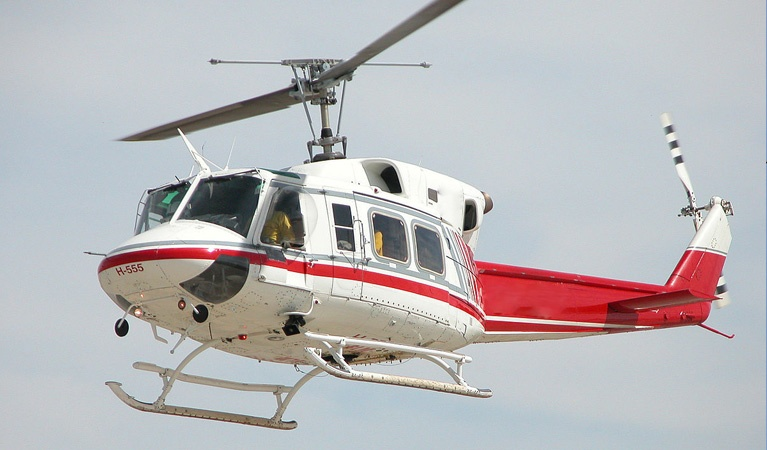 Bell Helicopters 212 - Aerial Firefighting