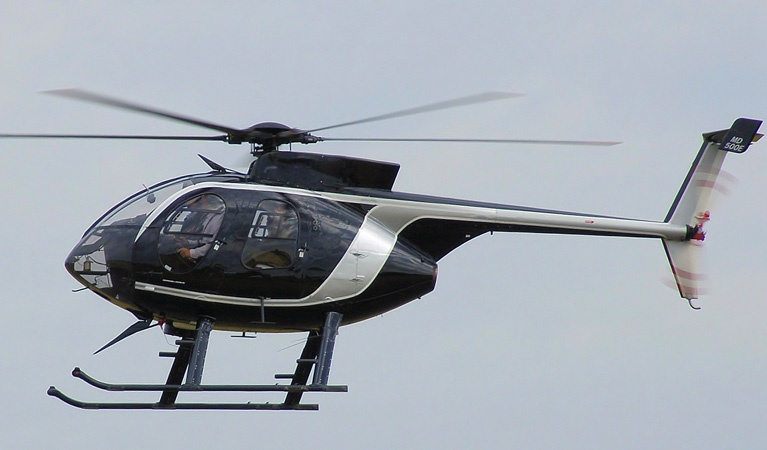 MD Helicopters MD 500 - Aerial Firefighting