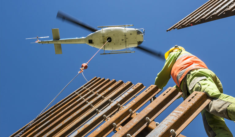 Construction - Government Helicopter Support