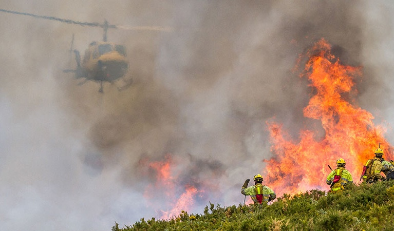 Firefighting - Environmental Helicopter Services