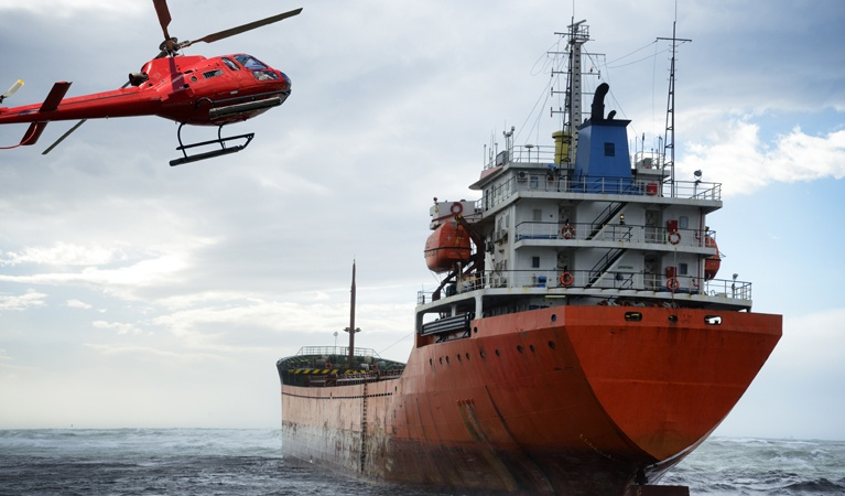 Hauling Equipment and Parts - Offshore Operations