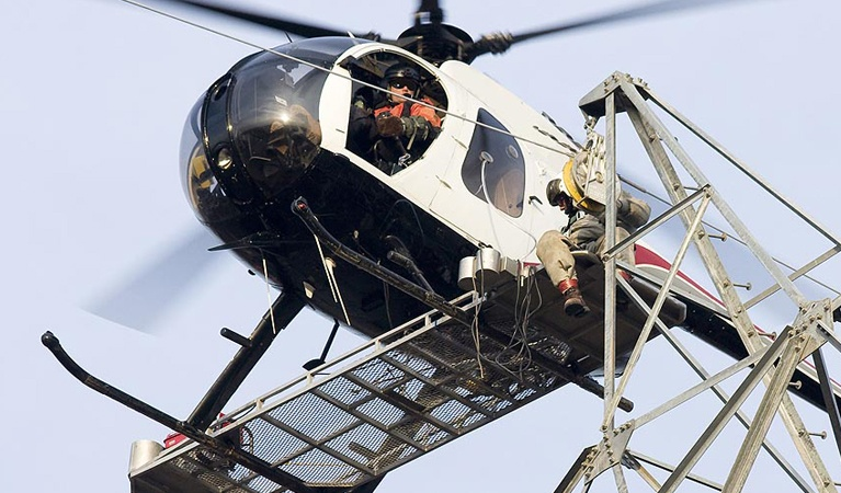 Construction - Helicopter Recovery Services