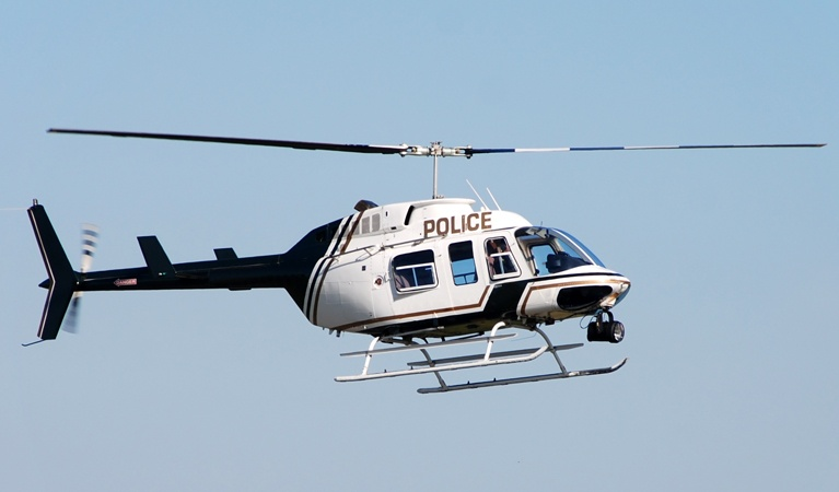 Law Enforcement - Government Helicopter Support