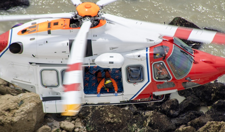 Water Salvage Assistance - Helicopter Recovery Services