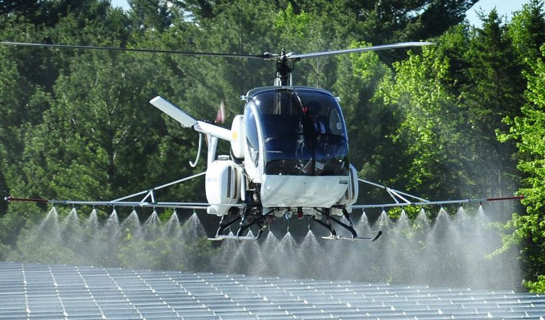 Aerial Frost Prevention - Aerial Application