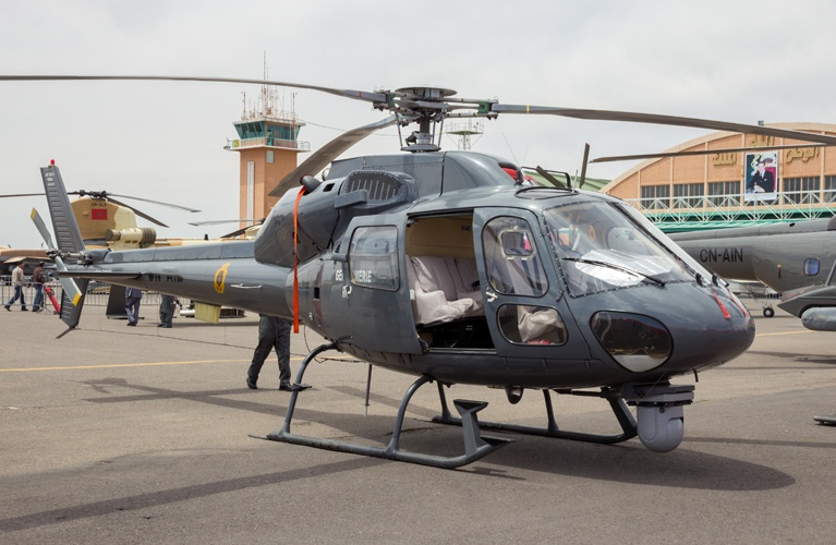AS355N Twinstar - Aerial Film Production