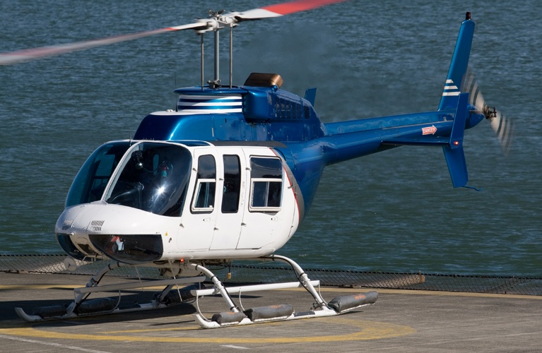 Bell 206 - Aerial Film Production