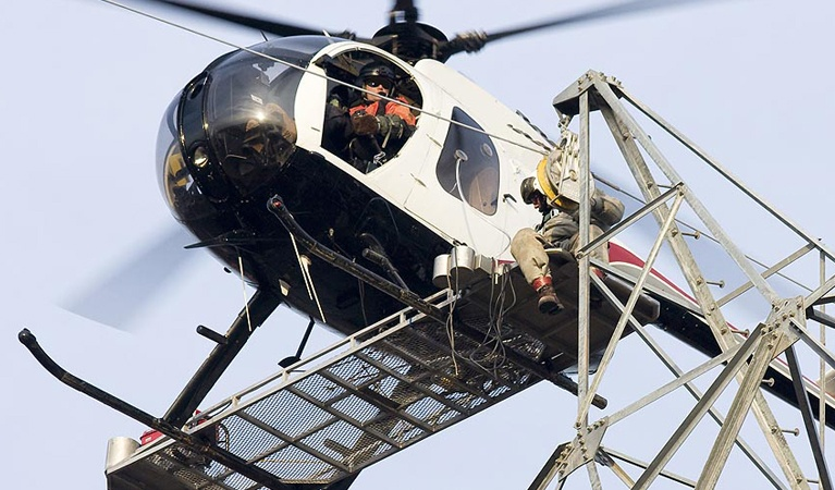 Construction - Helicopter Air Freight