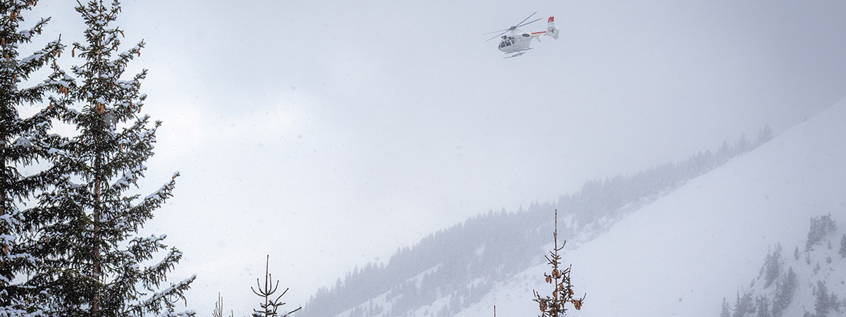 Helicopter Avalanche Control