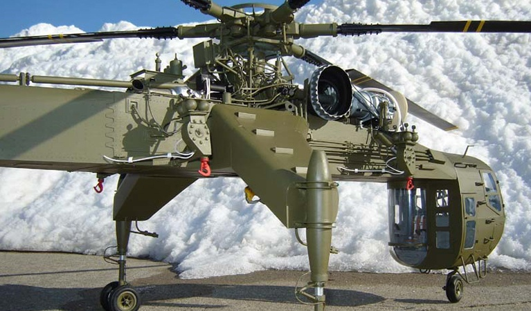 Sikorsky CH54-B - Helicopter Air Freight